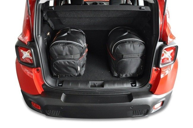 JEEP RENEGADE 2014+ CAR BAGS SET 4 PCS