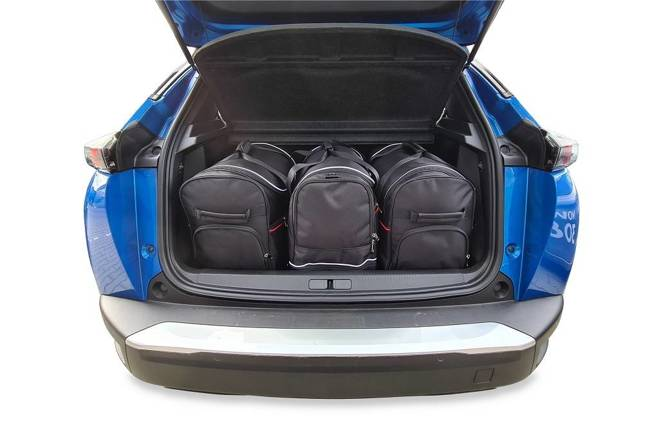 PEUGEOT e-2008 2019+ CAR BAGS SET 3 PCS
